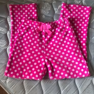 Girls Size 10/12 Cozy, Fleece Pajama Pants!